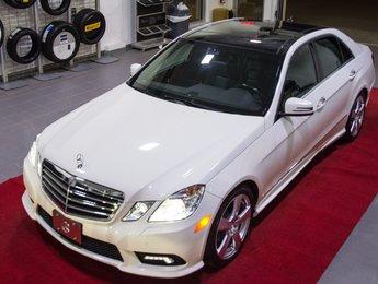Mercedes-Benz E-Class 2011 E350 4matic *Toit Pano + GPS + 18 pouces*