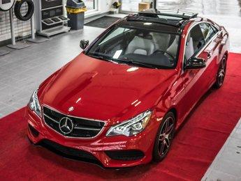 Mercedes-Benz E-Class 2016 E 400 4MATIC - Sièges climatisés - Toit - Sport