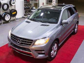 Mercedes-Benz M-Class 2012 ML350 BlueTEC *GPS + Toit Pano + Caméra*