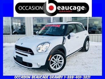 MINI Cooper Countryman 2016 S ALL4 AWD/ CUIR + BLUETOOTH + TOIT PANORAMIQUE