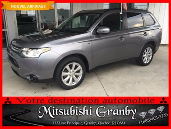 Mitsubishi Outlander 2014 SE TOIT OUVRANT, MAGS 18', AWC 7 PASSAGERS