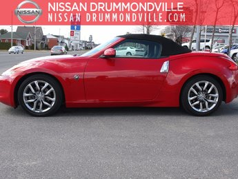 Nissan 370Z 2010 CONVERTIBLE V6 - INT. CUIR - BAS MILLAGE!!