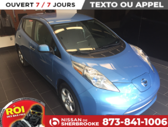 Nissan Leaf 2013 SV GPS, CARWING, TOUT ÉQUIPÉ