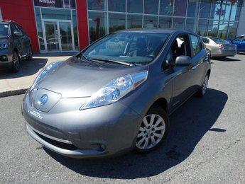 Nissan Leaf 2014 S/100% ÉLECTRIQUE/SIEGE ET VOLANT CHAUFFANT/