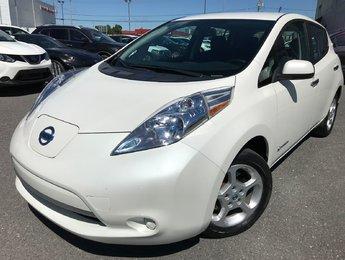 Nissan Leaf 2014 SV GPS CAMÉRA DE RECUL 100% ÉLECTRIQUE CERTIFIÉ