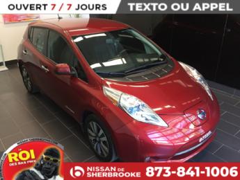 Nissan Leaf 2015 SL CUIR/GPS/CAMÉRA/ TOUTE ÉQUIPÉ
