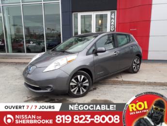Nissan Leaf 2016 SV , AUTOMATIQUE, GPS, CAMÉRA DE RECULE