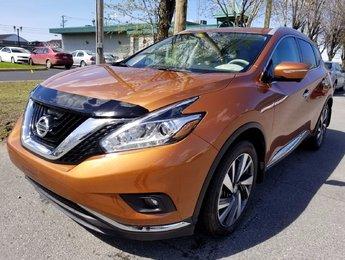 Nissan Murano 2015 PLATINUM AWD - CERTIFIÉ - NAVIGATION+CUIR+TOIT!!