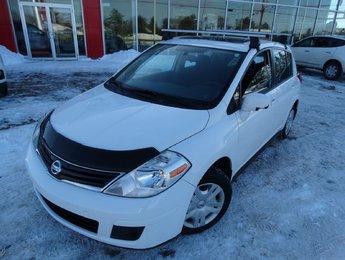 Nissan Versa 2012 1.8S/MANUELLE/OPTION+/AIR CLIMATISÉ