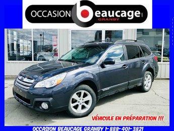 Subaru Outback 2013 LIMITED + AWD + CUIR + SIÈGES CHAUFFANTS + A/C