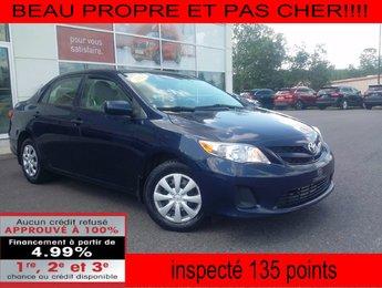 Toyota Corolla 2012 BEAU PROPRE ET PAS CHER!!!!