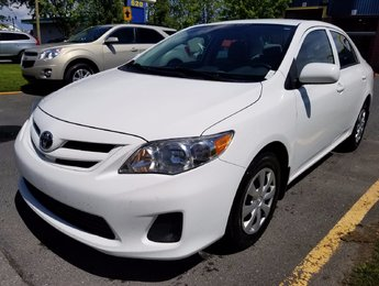Toyota Corolla 2012 CE - AUTOMATIQUE - A/C - JAMAIS ACCIDENTÉ!