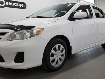 Toyota Corolla 2013 CE, air climatisé, régulateur, vitres électriques