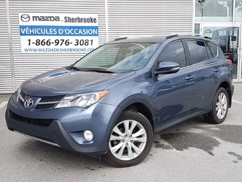 Toyota RAV4 2013 LIMITED 72600KM AWD CUIR TOIT OUVRANT AUTOMATIQUE
