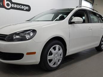 Volkswagen Golf Sportwagon 2013 Trendline, régulateur de vitesse, barres de toit