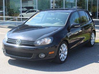 Volkswagen Golf 2012 2.5L*HIGHLINE*BLUETOOTH*AC*CRUISE*CUIR*TOIT*CHAUFF