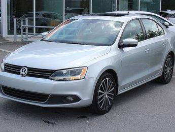 Volkswagen Jetta 2013 2.5*HIGHLINE*BLUETOOTH*CUIR*TOIT*AC*SIEGES CHAUFF*