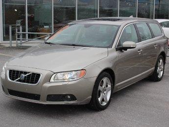 Volvo V70 2009 3.2L*WAGON*V6*BLUETOOTH*AC*CRUISE*CUIR*TOIT*