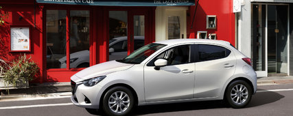The All-New Mazda2 Unveiled in Canada