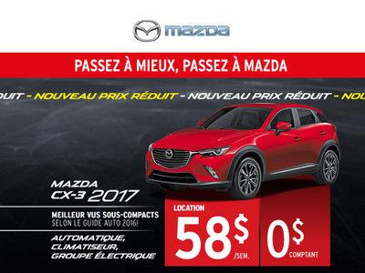 Location de Mazda CX-3 2017