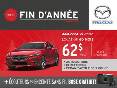 Location du nouveau Mazda 6 2017