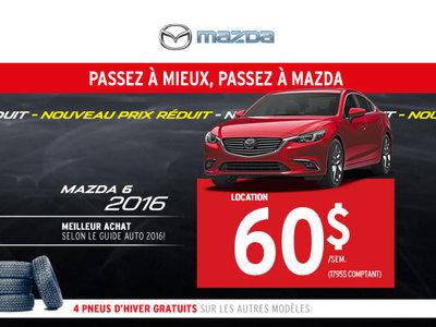 Location du nouveau Mazda 6 2016