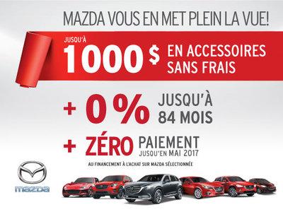 Mazda vous en met plein la vue!