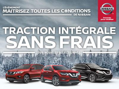 Maitrisez toutes les conditions de Nissan