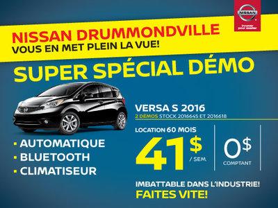 Nissan Versa Note 2016 chez Drummondville