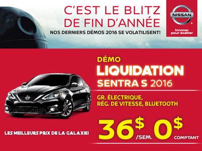 Nissan Sentra 2016 chez Drummondville