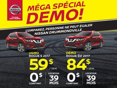 MÉGA SPÉCIAL DÉMO sur les Rogue S et Rogue SV 2017!