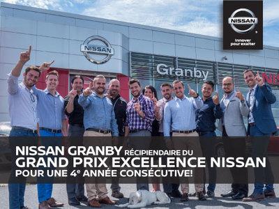 Nissan Granby vous remercie de votre confiance!