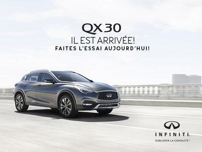 La Infiniti QX30 est arrivé en concession!