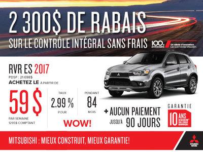Mitsubishi RVR ES 2017