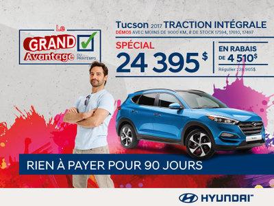 Liquidation de démos : Hyundai Tucson 2017