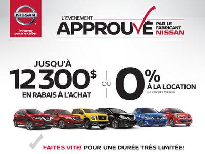 L'évènement Approuvé par le fabricant Nissan