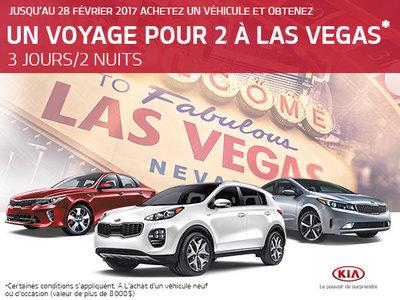 Voyage pour 2 à Las Vegas