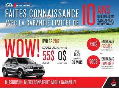 Mitsubishi RVR ES 2017 Drummondville