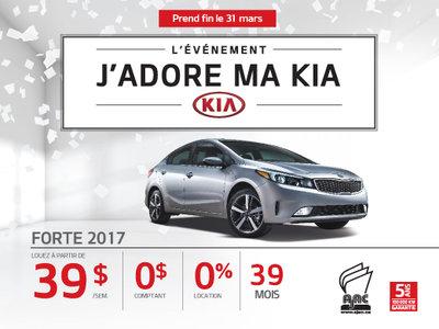 La Kia Forte 2017