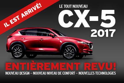Le tout nouveau Mazda CX-5 2017