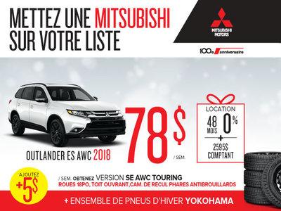Mitsubishi Outlander 2018 en rabais