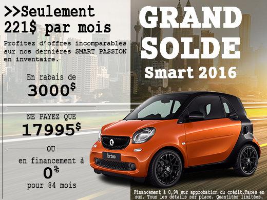 Grand solde smart 2016
