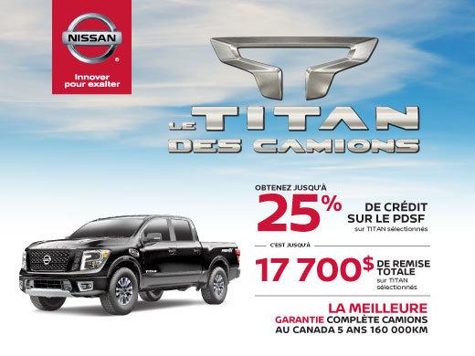 L'ÉVÉNEMENT TITAN DES CAMIONS!