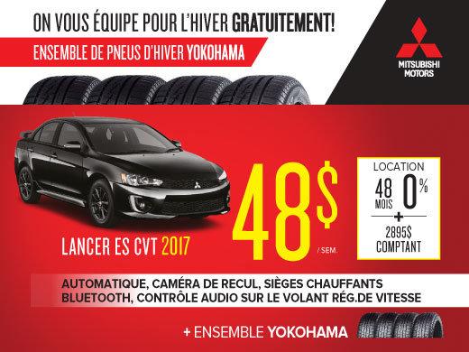 Mitsubishi Lancer 2017 en rabais