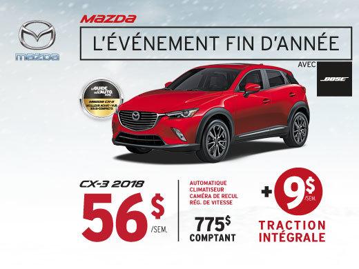 Louez le Mazda CX-3