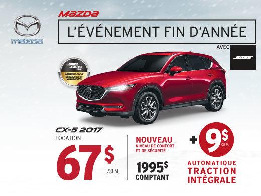 Louez le Mazda CX-5 2017