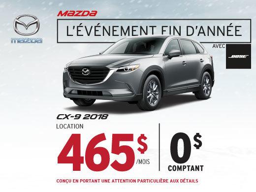 Louez le Mazda CX-9 2018