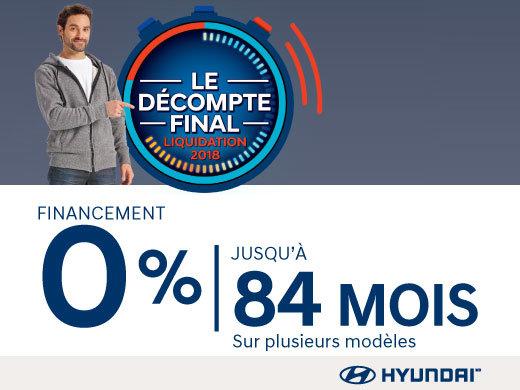 L'ÉVÉNEMENT DÉCOMPTE FINAL  - LIQUIDATION 2018 HYUNDAI MAGOG, ÇA VAUT LE DÉTOUR!