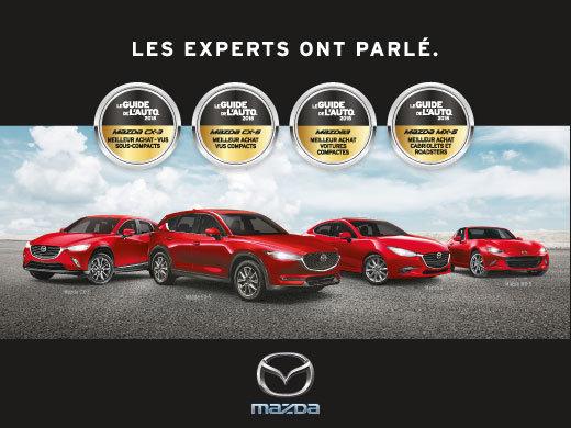 Mazda Meilleurs achats du Guide de l'auto 2018