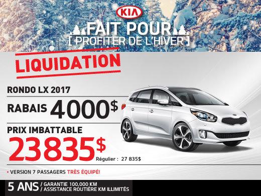 Liquidation Rondo LX 2017